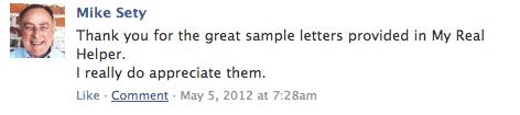 A little more Facebook love.